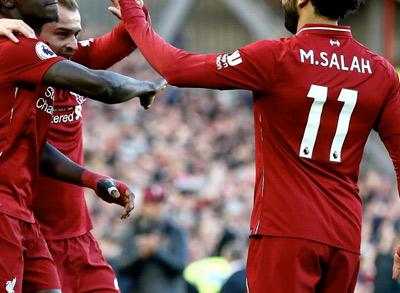 lístky Liverpool FC